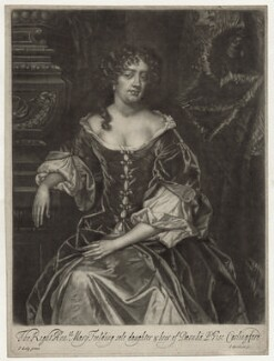 Mary Feilding (née Swift), by Isaac Beckett, after  Sir Peter Lely - NPG D30654