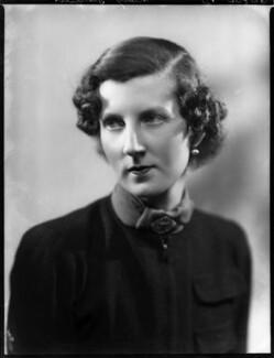 Elizabeth ('Betty') Sarah Polk (née Shaughnessy), Lady Grenfell, by Bassano Ltd - NPG x153196