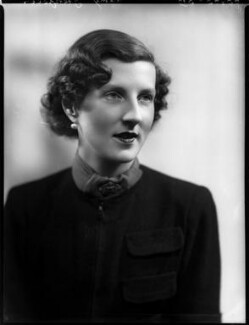 Elizabeth ('Betty') Sarah Polk (née Shaughnessy), Lady Grenfell, by Bassano Ltd - NPG x153198