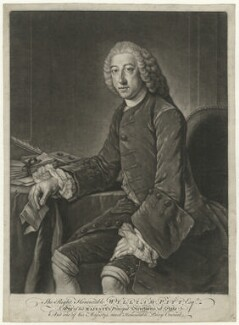 William Pitt, 1st Earl of Chatham, after William Hoare - NPG D32921