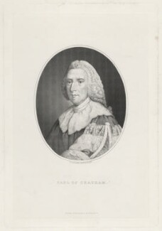 William Pitt, 1st Earl of Chatham, by G. Gabrielli, after  Richard Brompton - NPG D32924