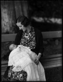 Miss Fagan; Hon. (Mary) Isabella Fagan (née Arundell), by Bassano Ltd - NPG x153205