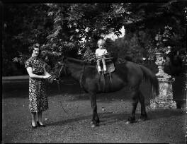 Hon. (Mary) Isabella Fagan (née Arundell); Patrick Feltrim Fagan, by Bassano Ltd - NPG x153208