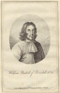 William Penderel, after Unknown artist, published by  William Richardson - NPG D30666