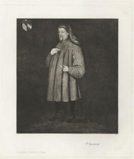 Geoffrey Chaucer, after Unknown artist - NPG D32927