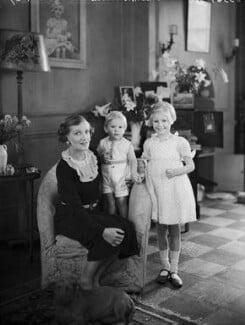 Lady Vivian with her children, by Bassano Ltd - NPG x153213