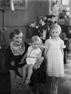 Lady Vivian with her children, by Bassano Ltd - NPG x153214