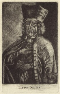 Titus Oates, after Unknown artist - NPG D30671