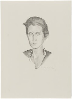 Stella Benson (Mrs Anderson), after Wyndham Lewis - NPG D32933