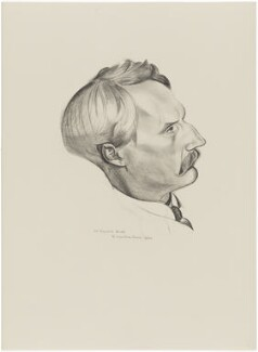 Meyrick Booth, after Wyndham Lewis - NPG D32934