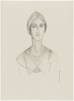 Sybil Rachel Betty (née Sassoon), Marchioness of Cholmondeley, after Wyndham Lewis - NPG D32936