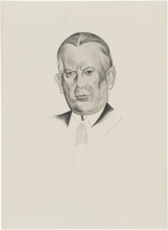 Sir Charles Blake Cochran, after Wyndham Lewis - NPG D32937