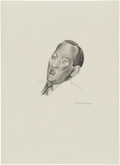 Noël Coward, after Wyndham Lewis - NPG D32938