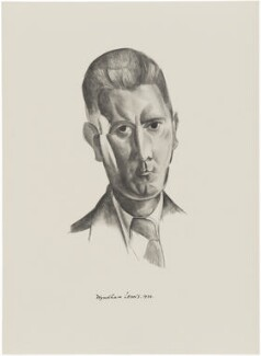 Thomas Wade Earp, after Wyndham Lewis - NPG D32940