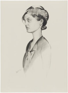 Margaret Cameron Flower (née Coss), after Wyndham Lewis - NPG D32942