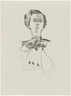 Dorothy Alexander (née Heinlein), Lady Harmsworth, after Wyndham Lewis - NPG D32944