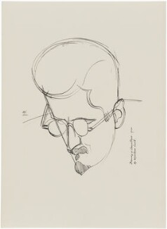 James Joyce, after Wyndham Lewis - NPG D32948