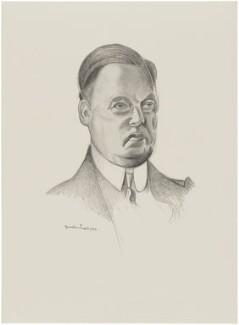 Harold Sidney Harmsworth, 1st Viscount Rothermere, after Wyndham Lewis - NPG D32958