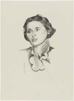 Dame Rebecca West (Cicily Isabel Andrews (née Fairfield)), after Wyndham Lewis - NPG D32960