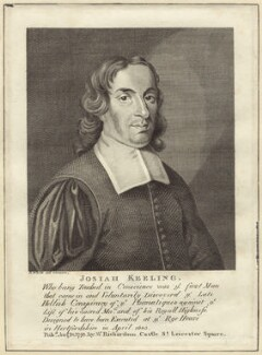 Josiah Keeling, after Robert White, published by  William Richardson - NPG D30677