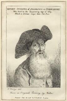 Henry Jenkins, after Thomas Worlidge, published by  James Caulfield, published 1792 - NPG D30696 - © National Portrait Gallery, London