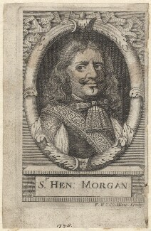 Sir Henry Morgan, by Frederick Hendrik van Hove - NPG D30701