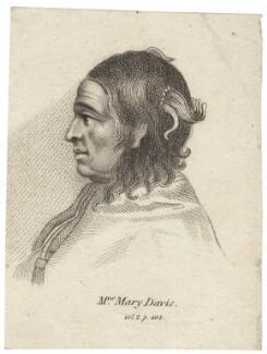 Mary Davis, after Unknown artist - NPG D30702