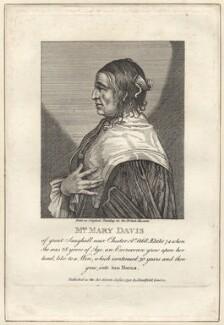 Mary Davis, after Unknown artist - NPG D30704