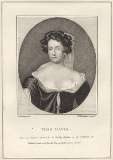 Mary Davis, by William Nelson Gardiner, after  Silvester (Sylvester) Harding, after  Sir Godfrey Kneller, Bt - NPG D30705
