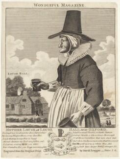 Mother Louse, published by C. Johnson, after  David Loggan - NPG D30707
