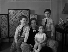 The Eyre Family, by Bassano Ltd - NPG x153266