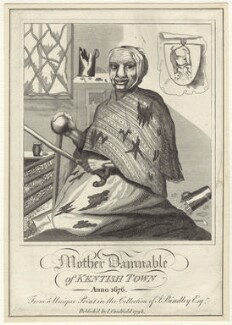 Mother Damnable, after Unknown artist, published by  James Caulfield - NPG D30717