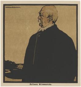 Prince Otto Edward Leopold von Bismarck-Schonhausen, published by William Heinemann, after  William Nicholson - NPG D32964