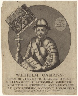 William Oxman (or Orsingham), after Unknown artist - NPG D30723