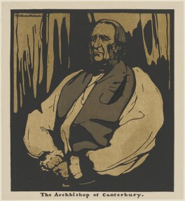 Frederick Temple, published by William Heinemann, after  William Nicholson - NPG D32966