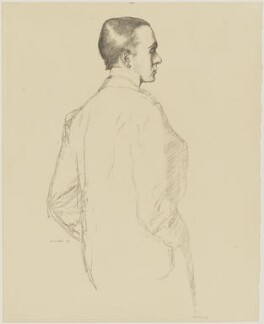 Sir Max Beerbohm, by Sir William Rothenstein, published 1899 (1898) - NPG D32976 - © National Portrait Gallery, London