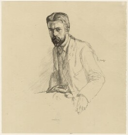 Laurence Housman, by William Rothenstein - NPG D32978
