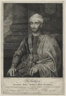 Mohammed ben Haddu Ottur (Hamet), by M. Tomkins, after  Susannah-Penelope Rosse (née Gibson) - NPG D30736
