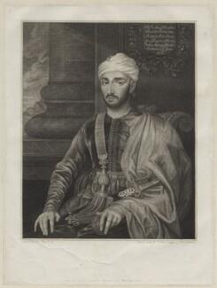 Mohammed ben Haddu Ottur (Hamet), by M. Tomkins, after  Susannah-Penelope Rosse (née Gibson) - NPG D30737