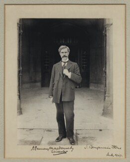 Ramsay MacDonald, by Sir (John) Benjamin Stone, July 1907 - NPG x31583 - © National Portrait Gallery, London