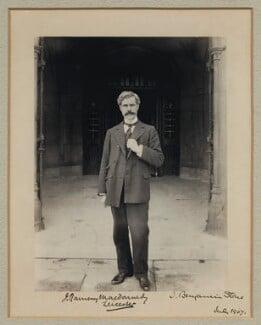 Ramsay MacDonald, by Sir (John) Benjamin Stone, July 1907 - NPG x31583 - © National Portrait Gallery, London