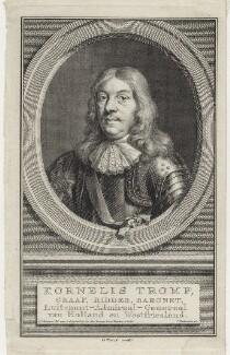 Cornelis van Tromp, by Jacobus Houbraken, after  Aert Schouman - NPG D30745