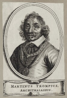 Maarten Tromp, after Unknown artist - NPG D30750