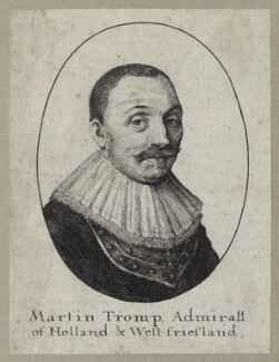 Maarten Tromp, probably by Wenceslaus Hollar - NPG D30751