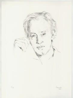 Sir Sidney Robert Nolan, by Judy Cassab (Mrs Kampfner), 1984 - NPG D32995 - © National Portrait Gallery, London