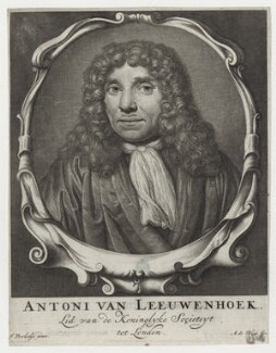 Antonie van Leeuwenhoek, after Jan Verkolje, published by  Abraham de Blois - NPG D30758