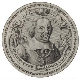 Michiel Adriaenszoon de Ruyter, after Unknown artist - NPG D30763