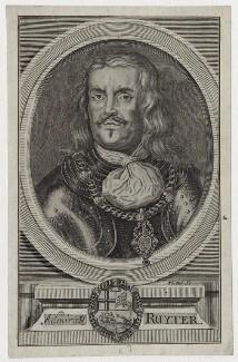 Michiel Adriaenszoon de Ruyter, by George Vertue, after  Unknown artist - NPG D30765