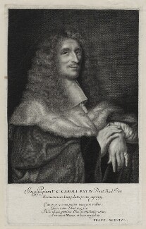Charles Patin, by Antoine Masson, after  Unknown artist - NPG D30769