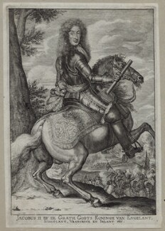 King James II, after Unknown artist - NPG D30783